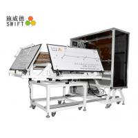 Full Automatic Cable Tie Machine , Customized Plastic Tie Machine With A Robot