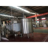 Wholesale 10Bbl Large Scale Brewing Equipment With Fermentation Tank Steam Heating from china suppliers