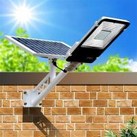 Wholesale 6500K 100 Watt IP65 Solar Powered LED Street Lights Integrated Pathway Lamp from china suppliers