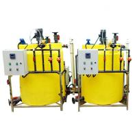 China Chemical Chlorine Flocculant Dosing System Polymer Pam Liquid Dosing System on sale