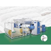 High Rigidity Computerized Multi Needle Quilting Machine With Automatic Lubrication System