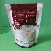 China coffee bags producer, stand up coffee bags with zipper, reclosable and with one-way valve, highest quality, lowest price on sale