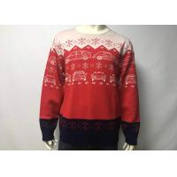 Wholesale Round Neck Cool Men Knitted Ugly Christmas Sweater Dress , Ugly Christmas Pullover from china suppliers