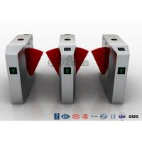 Wholesale Automatic Flap Security Barrier Gate , Waist Height Turnstile With Ticketing System from china suppliers