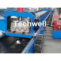 Wholesale 3 Wave Highway Guardrail Roll Forming Machine for Making Steel Curvinging from china suppliers
