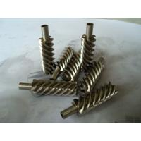 Wholesale 40Cr, 42CrMo steel alloy and brass precision helical worm gear for reducer from china suppliers