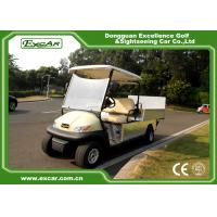 Wholesale Beige Two Seater Electric Hotel Buggy Car with Cargo ADC 48V Motor Electric Utility Car from china suppliers