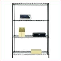 "Wholesale Multipurpose Home Organized Display Rack 4 Tier Wire Shelving 14""D X 36""W from china suppliers"