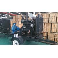 Wholesale Trailer Diesel Water Pump Set With Cummins Diesel Engines For Agriculture irrigation from china suppliers