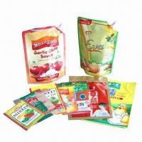 Wholesale Spout Pouches, Suitable for Ketchup and Sauce Packing from china suppliers