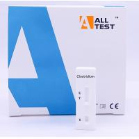 Wholesale CE Certified Lateral Flow Immunochromatographic Assays Clostridium difficile Rapid Test Cassette from china suppliers