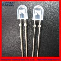 Wholesale 5mm Blue Water Clear Oval LED Diode for Torch Light (RoHS) from china suppliers