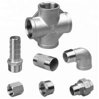 Buy cheap Casting Stainless Steel Pipe Fittings , Threaded Stainless Steel Plumbing from wholesalers