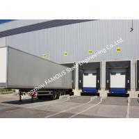 Wholesale PVC Fabric Loading Dock Sectional Seal Lifting Industrial Garage Doors With Remote Operations from china suppliers
