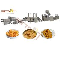 Wholesale CE ISO Extrusion Kurkure Making Snack Production Line Twin Screw Extruder from china suppliers
