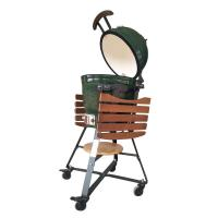 Wholesale Kitchen 18 Inch Classic Kamado Grill Charcoal Bbq With Adjustable Height from china suppliers