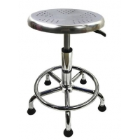 Buy cheap Synthetic Leather 320mm ESD Chemistry Laboratory Stool Adjustable from wholesalers
