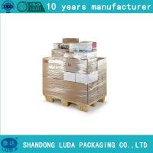 China clients demand Transparent LLDPE Pallet Wrap Stretch Plastic Shrink Film on sale