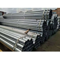 Wholesale SS400 DN40 0.4mm Thickness Welded Steel Tube Galvanized Steel Pipe DN50 from china suppliers
