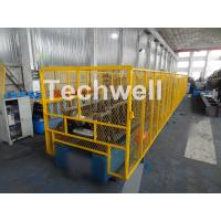 Wholesale CZ Purlin Roll Forming Machine With Pre-punching & Pre-cutting For Mesh Guards Covered from china suppliers