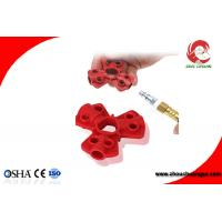 Wholesale Red Color Small Size Industrial ABS Pneumatic Quick-Disconnect Lockouts from china suppliers