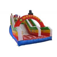 Wholesale Commercial Blow Up Water Slides , Western Theme Large Inflatable Water Slide from china suppliers