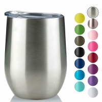 Wholesale 220ml Stainless Steel Stemless Wine Tumblers from china suppliers