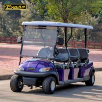 Wholesale Corrsion - Resistant 6 Person Electric Golf Carts With LED Front Or Rear Lights And Horn from china suppliers