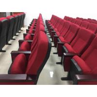 Buy cheap PP Back And Seat Auditorium Church Lecture Hall Chairs With Folded Writing from wholesalers