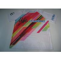 Wholesale Sublimation Custom Printed Sport T Shirts Running T Shirt Quick Dry from china suppliers