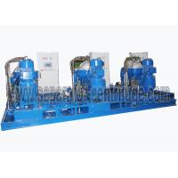 China 14000LPH 3-phase Oil Water Solid Centrfiugal Oil Separator Full Hydraulic on sale