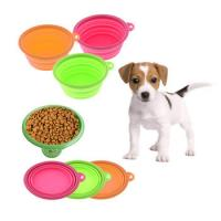 Wholesale Collapsible Silicone Bowl / Microwave Food Container for Pet from china suppliers