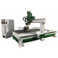 Wholesale Computer Controlled Cnc Wood Cutting Machine , Auto Calibrate Tool Sensor Cnc Wood Carving Machine from china suppliers