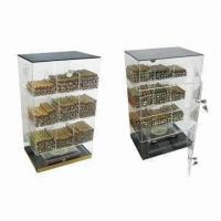 Wholesale Acrylic Cigar Display Humidor with Humidifier and Hygrometer from china suppliers