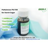 Wholesale 1400 BU  / ml Pullulanase Enzyme Light To Dark Brown Liquid 25kg 30kg Plastic Drums from china suppliers