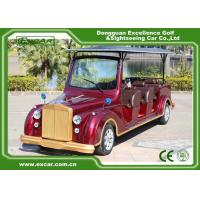 Wholesale EXCAR Electric Classic Cars For 8 seater With Intelligent Onboard Charger from china suppliers