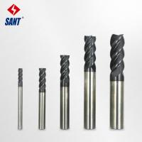 Wholesale China high quality and durable Carbide End Mills with four flute 50/75mm length from china suppliers