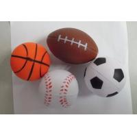 Buy cheap Soft anti stress ball, Beautiful Custom Logo Printed PU Stress Ball product