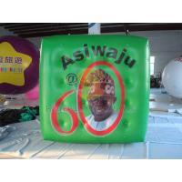 Wholesale Green Political Advertising Bal, Inflatable Advertisement Helium Cube for Political events from china suppliers