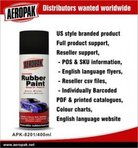 China Non Toxic Aerosol Metallic Red Spray Paint For Car , Plasti Dip Rubber Paint on sale