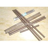 W80 W75 W70 Tungsten Copper Alloy Rods W Cu Alloy Bars for Electrodes / Contacts Manufactures