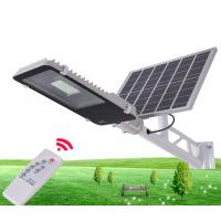 China Durable Solar Powered LED Street Lights / Solar Street Lamp With Remote Control on sale