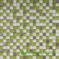 China Acid-proof Glass Crystal Mosaic Tile For home decoration,China Glass mosaic tiles Factory on sale