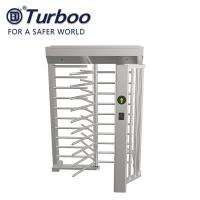 Wholesale RFID Facial Barcode Recognition Full Height Turnstile / SUS304 Full Height Gate 24V from china suppliers