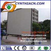 Wholesale 110inch 16:9 Fast Fold Projection Screen HD Frame Portable Screen Outdoor Projector Screen from china suppliers