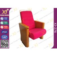 Wholesale Customized Fabric Auditorium Theatre Seating For Auditorium / Lecture Hall Area from china suppliers