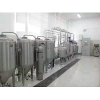 Wholesale 100L Malt Drink Small Brewery Equipment For Pilot Brewery , Testing Brewery from china suppliers