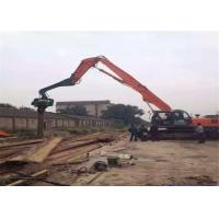 Wholesale High Mobility Excavator Vibro Hammer Working In Sand And Poorer Effect 2800 Rpm from china suppliers