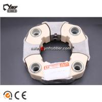 Buy cheap Flexible Rubber 140H Coupling Element , YNF Machinery Excavator Spare Parts from wholesalers