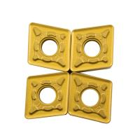 Wholesale High Performance Indexable Inserts CNMG120412 For Turning Holders Machining from china suppliers